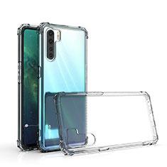 Silikon Hülle Handyhülle Ultradünn Tasche Durchsichtig Transparent für Oppo A91 Klar
