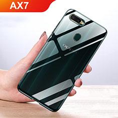 Silikon Hülle Handyhülle Ultradünn Tasche Durchsichtig Transparent für Oppo AX7 Klar