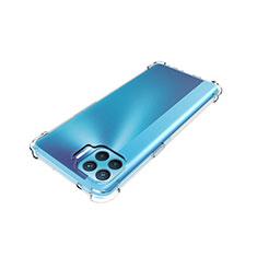 Silikon Hülle Handyhülle Ultradünn Tasche Durchsichtig Transparent für Oppo F17 Pro Klar