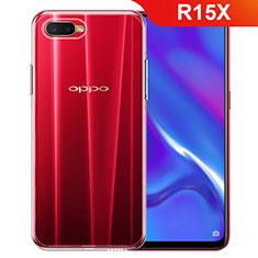 Silikon Hülle Handyhülle Ultradünn Tasche Durchsichtig Transparent für Oppo R15X Klar