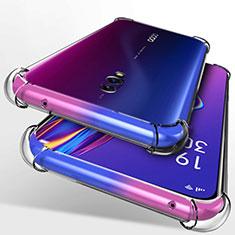 Silikon Hülle Handyhülle Ultradünn Tasche Durchsichtig Transparent für Oppo Realme X Klar