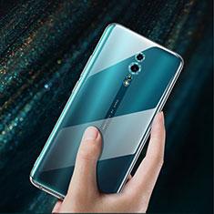 Silikon Hülle Handyhülle Ultradünn Tasche Durchsichtig Transparent für Oppo Reno Z Klar