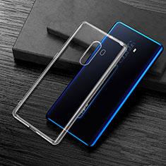 Silikon Hülle Handyhülle Ultradünn Tasche Durchsichtig Transparent für Oppo Reno2 Klar