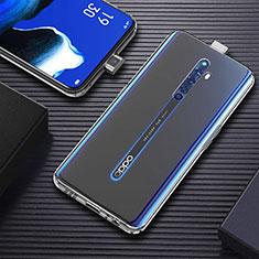 Silikon Hülle Handyhülle Ultradünn Tasche Durchsichtig Transparent für Oppo Reno2 Z Klar