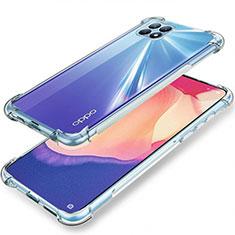 Silikon Hülle Handyhülle Ultradünn Tasche Durchsichtig Transparent für Oppo Reno4 SE 5G Klar