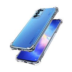 Silikon Hülle Handyhülle Ultradünn Tasche Durchsichtig Transparent für Oppo Reno5 Pro 5G Klar