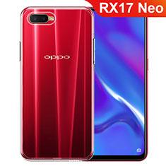 Silikon Hülle Handyhülle Ultradünn Tasche Durchsichtig Transparent für Oppo RX17 Neo Klar