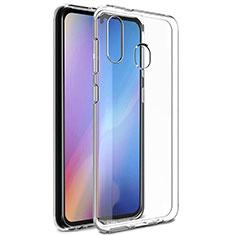 Silikon Hülle Handyhülle Ultradünn Tasche Durchsichtig Transparent für Samsung Galaxy A20e Klar
