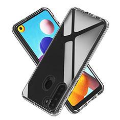 Silikon Hülle Handyhülle Ultradünn Tasche Durchsichtig Transparent für Samsung Galaxy A21 Klar