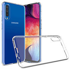 Silikon Hülle Handyhülle Ultradünn Tasche Durchsichtig Transparent für Samsung Galaxy A50 Klar