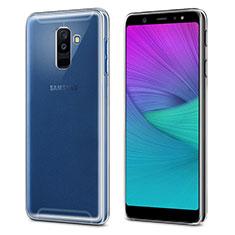 Silikon Hülle Handyhülle Ultradünn Tasche Durchsichtig Transparent für Samsung Galaxy A6 Plus (2018) Klar