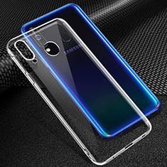 Silikon Hülle Handyhülle Ultradünn Tasche Durchsichtig Transparent für Samsung Galaxy A60 Klar