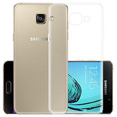 Silikon Hülle Handyhülle Ultradünn Tasche Durchsichtig Transparent für Samsung Galaxy A7 (2017) A720F Klar