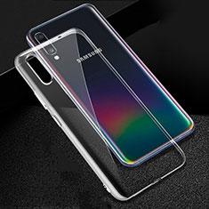 Silikon Hülle Handyhülle Ultradünn Tasche Durchsichtig Transparent für Samsung Galaxy A70S Klar