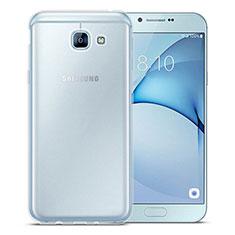 Silikon Hülle Handyhülle Ultradünn Tasche Durchsichtig Transparent für Samsung Galaxy A8 (2016) A8100 A810F Klar