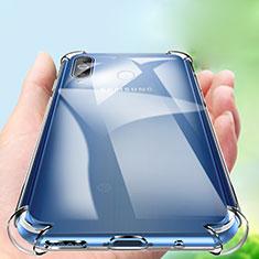 Silikon Hülle Handyhülle Ultradünn Tasche Durchsichtig Transparent für Samsung Galaxy A8s SM-G8870 Klar