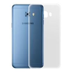 Silikon Hülle Handyhülle Ultradünn Tasche Durchsichtig Transparent für Samsung Galaxy C7 Pro C7010 Klar