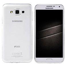 Silikon Hülle Handyhülle Ultradünn Tasche Durchsichtig Transparent für Samsung Galaxy E7 SM-E700 E7000 Klar
