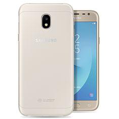 Silikon Hülle Handyhülle Ultradünn Tasche Durchsichtig Transparent für Samsung Galaxy J3 Pro (2017) Klar