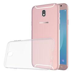 Silikon Hülle Handyhülle Ultradünn Tasche Durchsichtig Transparent für Samsung Galaxy J5 (2017) SM-J750F Klar