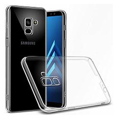 Silikon Hülle Handyhülle Ultradünn Tasche Durchsichtig Transparent für Samsung Galaxy J6 (2018) J600F Klar