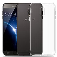 Silikon Hülle Handyhülle Ultradünn Tasche Durchsichtig Transparent für Samsung Galaxy J7 Plus Klar