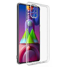 Silikon Hülle Handyhülle Ultradünn Tasche Durchsichtig Transparent für Samsung Galaxy M51 Klar