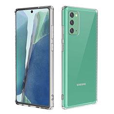 Silikon Hülle Handyhülle Ultradünn Tasche Durchsichtig Transparent für Samsung Galaxy Note 20 5G Klar