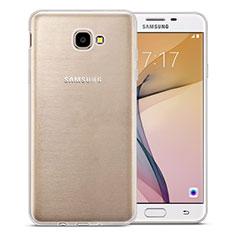 Silikon Hülle Handyhülle Ultradünn Tasche Durchsichtig Transparent für Samsung Galaxy On7 (2016) G6100 Klar