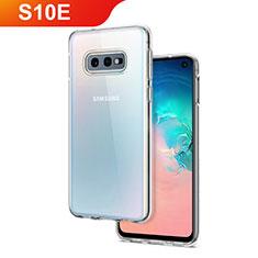 Silikon Hülle Handyhülle Ultradünn Tasche Durchsichtig Transparent für Samsung Galaxy S10e Klar