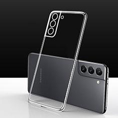 Silikon Hülle Handyhülle Ultradünn Tasche Durchsichtig Transparent für Samsung Galaxy S21 5G Klar