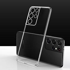 Silikon Hülle Handyhülle Ultradünn Tasche Durchsichtig Transparent für Samsung Galaxy S21 Ultra 5G Klar