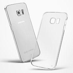 Silikon Hülle Handyhülle Ultradünn Tasche Durchsichtig Transparent für Samsung Galaxy S6 Edge SM-G925 Klar