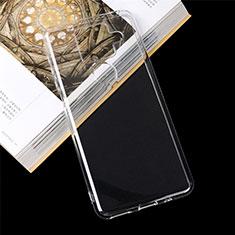 Silikon Hülle Handyhülle Ultradünn Tasche Durchsichtig Transparent für Sharp AQUOS Sense4 Plus Klar