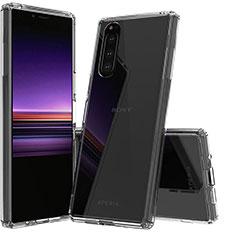 Silikon Hülle Handyhülle Ultradünn Tasche Durchsichtig Transparent für Sony Xperia 5 Klar