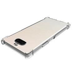 Silikon Hülle Handyhülle Ultradünn Tasche Durchsichtig Transparent für Sony Xperia 8 Lite Klar