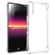 Silikon Hülle Handyhülle Ultradünn Tasche Durchsichtig Transparent für Sony Xperia L4 Klar