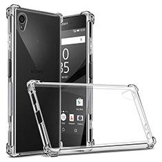 Silikon Hülle Handyhülle Ultradünn Tasche Durchsichtig Transparent für Sony Xperia XA1 Plus Klar