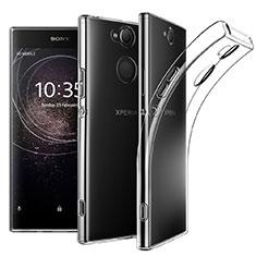 Silikon Hülle Handyhülle Ultradünn Tasche Durchsichtig Transparent für Sony Xperia XA2 Plus Klar