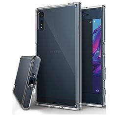 Silikon Hülle Handyhülle Ultradünn Tasche Durchsichtig Transparent für Sony Xperia XZ Klar
