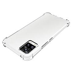 Silikon Hülle Handyhülle Ultradünn Tasche Durchsichtig Transparent für Vivo V20 Klar