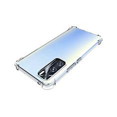 Silikon Hülle Handyhülle Ultradünn Tasche Durchsichtig Transparent für Vivo V20 SE Klar