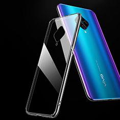 Silikon Hülle Handyhülle Ultradünn Tasche Durchsichtig Transparent für Vivo X50 Lite Klar
