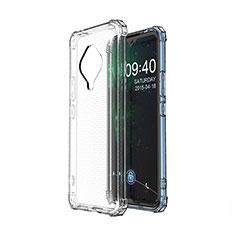 Silikon Hülle Handyhülle Ultradünn Tasche Durchsichtig Transparent für Vivo X50e 5G Klar