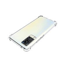 Silikon Hülle Handyhülle Ultradünn Tasche Durchsichtig Transparent für Vivo X60 5G Klar