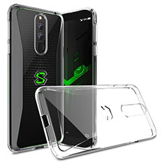 Silikon Hülle Handyhülle Ultradünn Tasche Durchsichtig Transparent für Xiaomi Black Shark Helo Klar