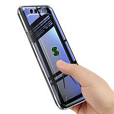 Silikon Hülle Handyhülle Ultradünn Tasche Durchsichtig Transparent für Xiaomi Black Shark Klar