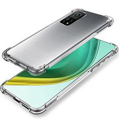 Silikon Hülle Handyhülle Ultradünn Tasche Durchsichtig Transparent für Xiaomi Mi 10T 5G Klar