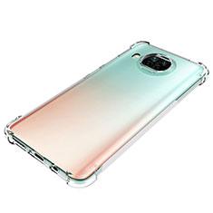 Silikon Hülle Handyhülle Ultradünn Tasche Durchsichtig Transparent für Xiaomi Mi 10T Lite 5G Klar
