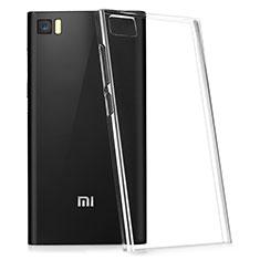Silikon Hülle Handyhülle Ultradünn Tasche Durchsichtig Transparent für Xiaomi Mi 3 Klar
